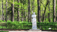 Памятник А.С. Пушкину в Архангельском