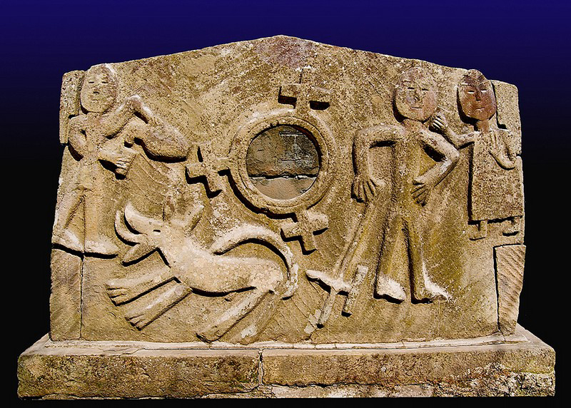 Значимые места: Мавзолей аланского царя XI в. н.э.