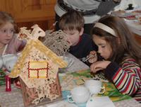 Детское интерактивное занятие  из серии Ожившие сказки Абрамцева в музее. 17 октября 2010 г.