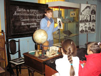 Мероприятие История письменных принадлежностей в интерьере  гимназии XIX века