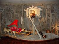 Экспозиция Мифологическое время - композиция Святилище Вут-Ими