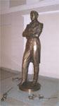 Памятник В.И. Качалову в Казанском  академическом Большом драматическом театре