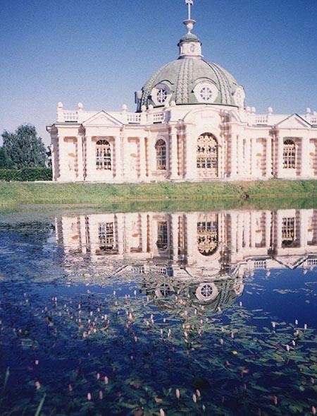 Значимые места: Грот в усадьбе Кусково