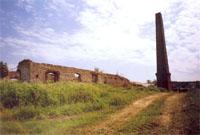 Руины химического завода 1850 года в Кокшане