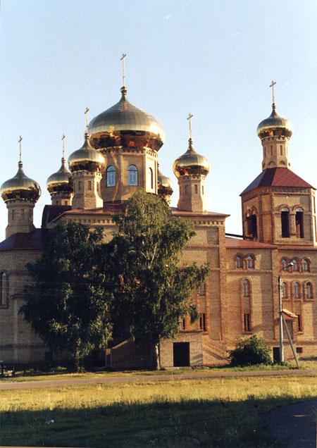 Значимые места: Воскресенский собор в р.п. Алексеевское. 1996 -2004 гг.