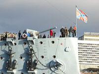 Экскурсия на крейсере Аврора