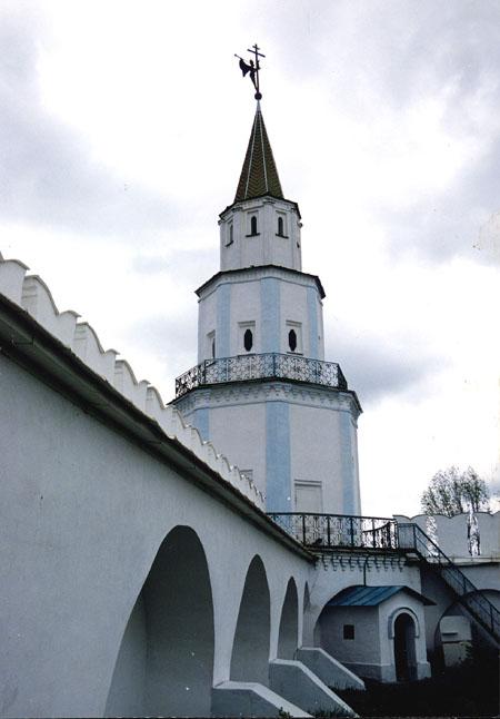 Значимые места: Стены Раифского монастыря