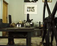 Деревянные станки  XVIII-XIX вв. гранильной мастерской В.В. Шахмина