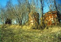 Место старой разрушенной церкви