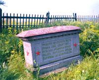 Братская могила 1919 г.  на горе Революции в Менделеевске