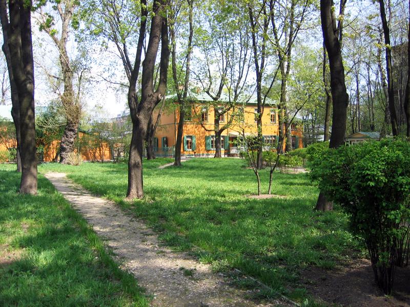 Значимые места: Сад  в Хамовниках
