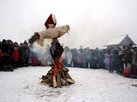 Фрагмент праздника-мероприятия Масленица