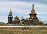 Архитектурный ансамбль XVIII в. в с. Лядины