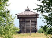 Башня Братского острога 1654 г.