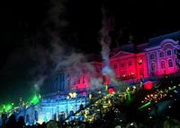 Петергоф. Праздник фонтанов, 16 сентября 2006 года