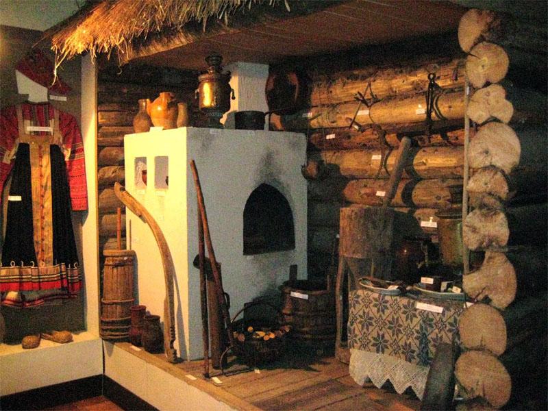 Значимые места: Зал крестьянского быта