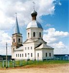 Владимиро-Богородицкая церковь.  Двухпрестольный храм построен в 1787 году на средства графа  И. И. Воронцова