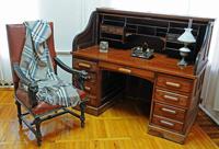 В мемориальном кабинете А.И. Эртеля