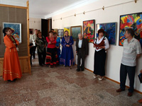 Картинная галерея. Открытие выставки Курманаевских