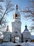 Колокольня Десятинного монастыря (вид снаружи)