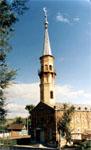 Мечеть соборная. Построена в 1910 г. Минарет восстановлен в 1991 г.