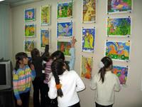 Выставка Искусство детей. Новосибирск