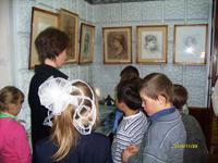 На выставке Мещерякова А.Н.