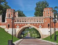 Царицынский ландшафтный парк. Фигурные ворота