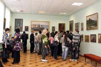 Открытие выставки художника Васильева  А.П.