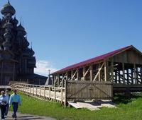 Реставрационная площадка. Реставрация Преображенской церкви: сезон 2007