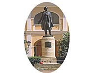 Памятник Пушкину, наб. Мойки, 12.