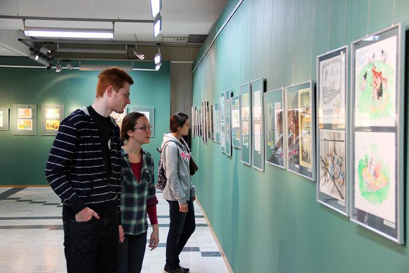 Значимые места: Посетители музея