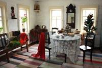 Горница в доме зажиточных крестьян