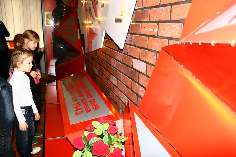 Значимые места: Экскурсия по залу Боевой Славы Старооскольский район в период Великой Отечественной войны