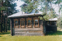 Дом-музей генерала М.С.Малинина в п.Антропово Костромской области