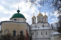 Ярославль. Церковь ярославских чудотворцев и Спасо-Преображенский собор.