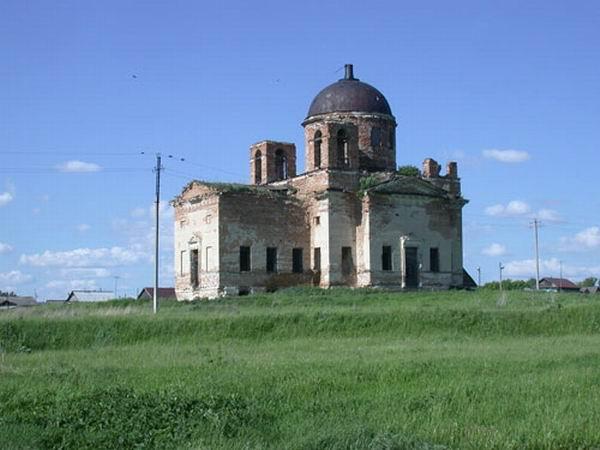 Здания и сооружения: Храм в селе Никитино
