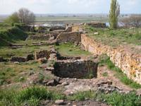 Участок города у оборонительной стены