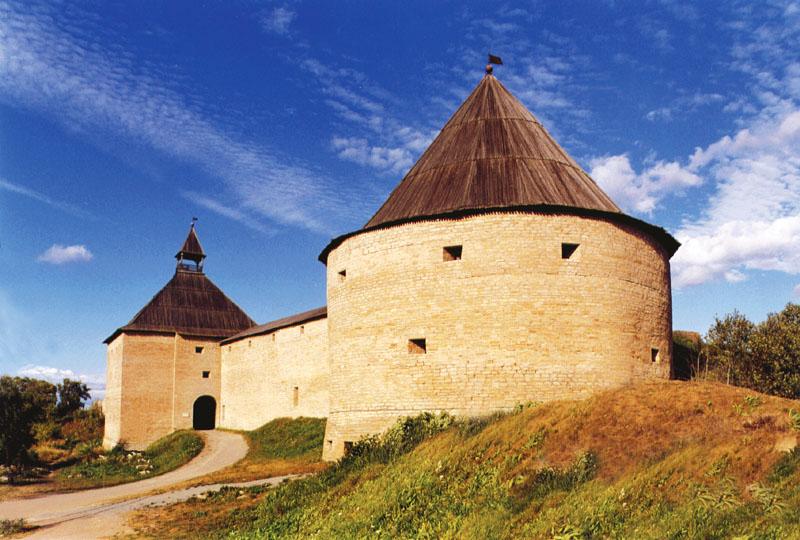 Здания и сооружения: Старая Ладога. Крепость XVI в.