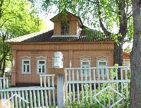 Дом А.К.Голицыной в Дютьково. Вид с улицы. Фото А.Лебедева