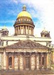 Исаакиевский соборю. Архитектор Огюст Монферан. 1818 - 1858