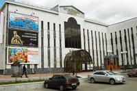 Здание Музейного центра, где находится Сургутский художественный музей