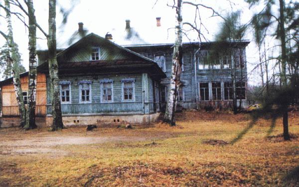 Здания и сооружения: Усадьба И.Северянина Владимировка
