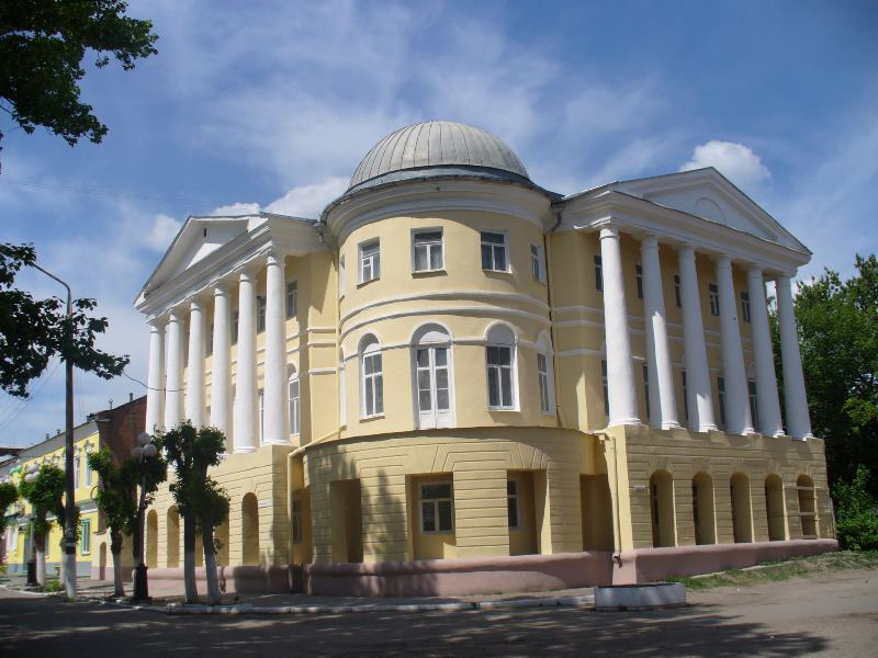 Здания и сооружения: Здание отдела истории