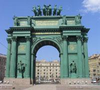 Здания и сооружения: Музей- памятник Нарвские Триумфальные ворота