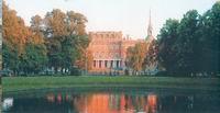 Михайловский замок со стороны Михайловского сада