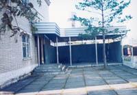 Вид музейного двора