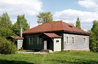 Здания и сооружения: Дом Валериана Д.Дервиза в усадьбе Домотканово