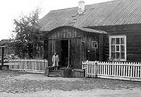 Часть старого здания (без пристроя)