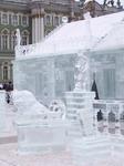 Ледяной дворец и его ледяные стражи